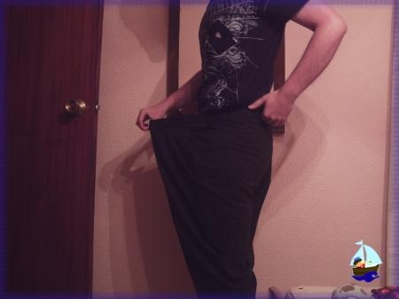 Pantalón grande, ande o no ande (pantalón del 2009)